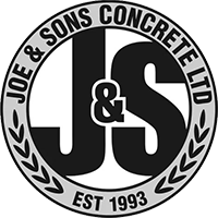 Joe & Sons - Concrete Finishing Kelowna - Concrete Repair Kelowna - Sandblasting Kelowna - Concrete Sealing Kelowna - Company Logo