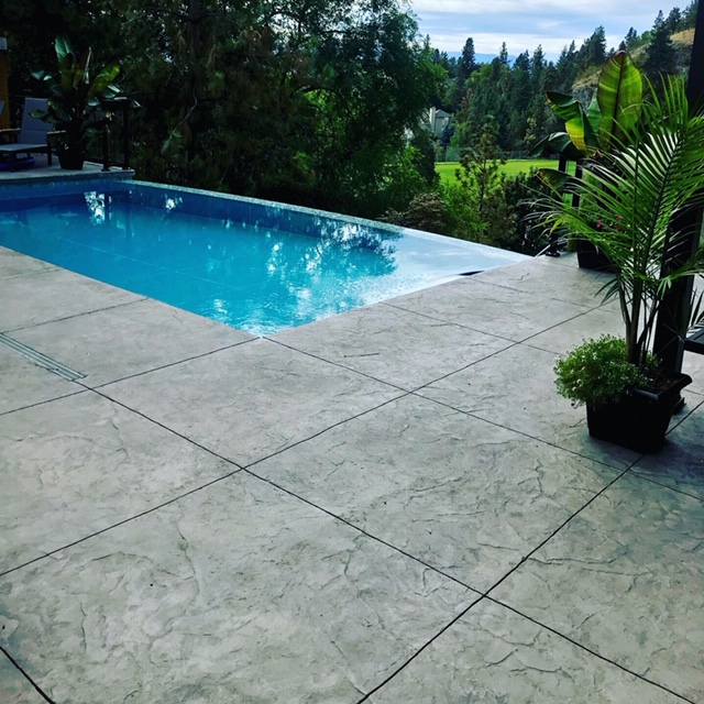 Joe & Sons - Sandblasting Kelowna - Pool Decks Gallery Image