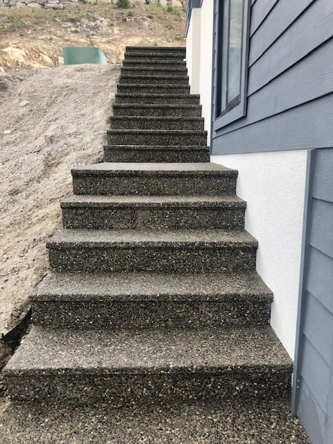 Joe & Sons - Sandblasting Kelowna - Stairs - Gallery Image