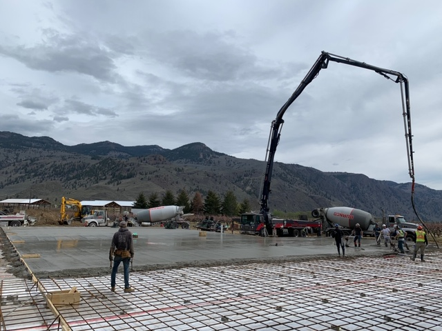 Joe & Sons - Sandblasting Kelowna - Sunny Valley Fruit Packers - Gallery Image - Construction Site