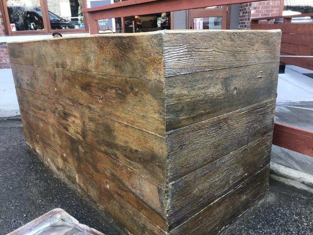 Joe & Sons - Sandblasting Kelowna - Concrete Retaining Wall - Gallery Image