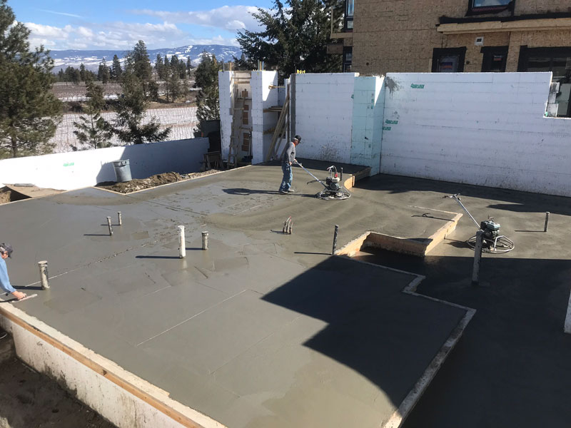 Joe & Sons - Sandblasting Kelowna - Machine Finished Concrete - Gallery Image